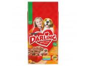 6064000 - -Darling Száraz Kutya Szárnyas+Zöldség 15kg - Darling - Szárnyas+zöldség 15kg  Darling száraz kutyaeledel. Zamatos és ízletes! Teljes értékű állateledel felnőtt kutyáknak. Szárnyassal zöldségeket tartalmaz. Ez a csomag száraz kutyaeledel hozzávetőlegesen 2 napig elegendő egy 20 kg-os kutyának.  ÖSSZETEVŐK: gabonafélék hús és állati származékok (min. 4% szárnyas) növényi eredetű származékok olajok és zsírok növényi fehérjekivonatok ásványi anyagok különféle cukrok zöldségek (min. 0 4 zöldség).  ADALÉKOK: Réz-szulfát (Réz=6mg/kg). Antioxidánsok: BHA (E320) BHT (E321) propil-gallát (E310). Tartósítószerek: Orto-foszforsav (E338) Kálium-szorbát (E202) Citromsav (E330) Propán-1 2 (E490). Színezékek: Tartrazin (E102) Ponceau 4R (E124) Indigókármin (E132) Sunset Yellow FCF (E110) Azorubin (E122).  VITAMINOK: A-vitamin: 5000 NE/kg D3-vitamin: 500 NE/kg E-vitamin (alfa-tokoferol): 50mg/kg. A termék vitamintartalmát a minőségmegőrzési idő lej