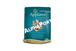 -Applaws Cat Alutasak Tonhal és szardínia 70g  AL8006  Applaws Tonhal filé és szardella 70g  Az APPLAWS tasakos Tonhal filé és szardella terméke csak a felsorolt  összetevőket tartalmazza. Az Applaws teljesen természetes teljes értékű eledel  macskák részére.   Összetétel: tonhal 60% szardella 5% hínár 10% víz 24% rizs 1% Beltartalmi alkotórészek: nedvesség 77% nyers fehérje 18% nyers zsír 0.4% nyers hamu 1% nyers rost 0.1% Az állat előtt mindig legyen friss tiszta ivóvíz. Szobahőmérsékleten adagolja. Szavatossági idő és gyártási szám: a csomagolás aljára nyomtatva.  PRÓBÁLJA KI! KEDVENCE SZERETNI FOGJA MERT AZ APPLAWS  SZÁRAZ ELEDELEK GABONAMENTESEK ÉS 80%-BAN TARTALMAZNAK  CSIRKEHÚST!