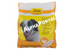 -Alfi Dog Száraz Baromfi 3kg  ALFI109  ALFI DOG SZÁRAZ BAROMFI 3KG  Teljes értékű száraz kutyaeledel normál energiaigényű felnőtt kutyák részére 1 éves kortól baromfi  ízesítéssel.  Az Alfi Dog etetésével a garantált minőségű nyersanyagok alkalmazásának köszönhetően kutyája egy kiválóan emészthető kellemes ízű szívesen fogyasztott táplálékhoz jut.  Szárazanyag min. 93% nyersfehérje min. 16%