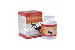 Arthronis Akut tabletta 60x  ARTHRO3  Hatóanyag: 1000 mg MSM,150 mg Lactomin  Célállat faj: kutya  Javallatok: az izmok és az ízületek károsodása,a kötőszövetek sérülése,porckorongsérv,szalagsérülés,rándulások, ficamok esetén  Adagolás: 25 kg alatt napi 1 tbl, 25-50 kg között napi 2 tbl, 50 kg felett napi 3 tbl  Kiszerelés: 60 tabletta