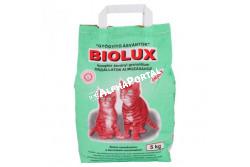 .Macskaalom Biolux 5kg  BB01  Biolux macskaalom 5kg Higiénikus, szagtalanító, antiparazitikus hatású. Macska és egyéb kisállatok almozásához.