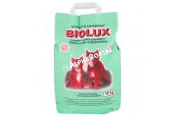 .Macskaalom Biolux 10kg  BB02  Biolux macskaalom 10 kg Higiénikus, szagtalanító, antiparazitikus hatású. Macska és egyéb kisállatok almozásához.