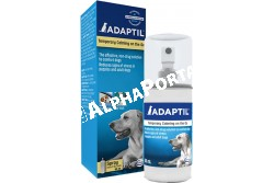Adaptil spray 60 ml  CEVA70  Az Adaptil termékcsalád hatóanyaga kizárólag kutyák számára érzékelhető, nyugtató hatású feromon  Javallat: kistestű kutyák számára, nyugtatásra stresszes helyzetekben, mint mennydörgés, tűzijáték, utazás, stb  Kiszerelés: 1 db