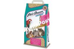 .Alom Chipsi Pets Dream Universal 7l, 4kg  CHIPSI1  Chipsi - Pet´s Dream Universal 7 l  A Chipsi Dream Universal egy normál szemcseméretű alom macskák és kistestű állatok számára. Kíváló szagmegkötő hatás - Óriási folyadékfelvevő képesség - Kíváló csomósodás - Minimális pormennyiség jellemzi.  Használata egyszerű! A megszokott módon az alomtálba macska wc-be kb 3-4 cm vastagságban töltsük fel. Elhasználódás után a környezeti előírásoknak megfelelően semlegesítsük. Lefolyóba háztartási szemét mellé ne öntsük!