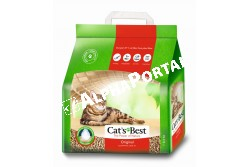 .Alom Cats Best Original 5l, 2,1kg  CHIPSI20  Hatékonyan köti meg a nedvességet és a kellemetlen szagokat. Háromszor nagyobb nedvesség befogadó kapacitással bír, mint a hagyományos almok. Könnyű, komposztálható és 100%-ban biológiailag lebomló. Kizárólag tiszta, organikus rostokból áll. Bársonyosan lágy, természetesen kellemes illatú.