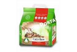 .Alom Cats Best Original 10l, 4,3kg  CHIPSI3  CHIPSI - ALOM CHIPSI CATS BEST ECO PLUS 10L 4,3KG  Csomósodó ökológiai alom macskáknak 100 biológiailag lebomló.  Ez a macskaalom 3x hatékonyabb a hagyományos csomósodó almoknál mert a természetes növényi rostok kapilláris rendszere effektíven megköti a nedvességet. Ezáltal a Cat´s Best Eco Plus sokkal gazdaságosabb takarékosabb a többi macskaalomnál.