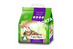 .Alom Cats Best Smart Pellets 5l, 2,5kg  CHIPSI56  Egyedülálló aktív farost technológiájának köszönhetően hatékonyan köti meg a nedvességet (700%) és a kellemetlen szagokat. Komposztálható és 100%-ban biológiailag lebomló. Kizárólag tiszta, organikus rostokból áll. Laza csomósodás, könnyű súly, pormentes, kíméletes, nem tapad a mancsokhoz. Hosszan tartó, 7 hétig használható.