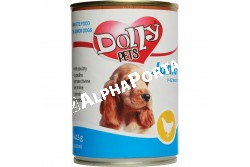 -Dolly Dog Junior konzerv csirke 415gr  DOLLY37  -Dolly Dog Junior konzerv csirke 415gr...