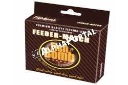 .Fishbomb Match-Feeder Damil 150m 0,14mm  FBD1  A fishbomb Feeder-Match horgászzsinór a feeder és match horgászatára lett kifejlesztve. Ez a csúcsminőségű zsinor megfelele a legszigorúbb német gyártási követelményeknek. A világ egyik legjobb karakterisztikájú zsinorja