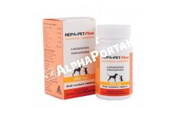 Hepa-Pet Plus 250 mg tabletta 30x  HEPAPET1  Hatóanyag: (L-metionin /S-Adenosyl/), a szilimarin, a B6- és B12 -vitamin, valamint az E-vitamin  Célállat faj: macska és kistestű kutya  Javallat: a jelenlegi legjobb tudásunknak megfelelő arányban és minőségben tartalmaz. Hepa-Pet Plus kiegészítő takarmány a májműködés támogatására. Különösen javasolt idős állatok számára  Adagolása:1 tabletta/10 ttkg-ra valamint speciálisan macskáknak és a kistestű kutyáknak készült 1 tabletta/állat adagolással. Jutalomfalatokhoz hasonló ízesítésű, hogy az állat is örömét lelje az elfogyasztásában  Kiszerelés: 30 tabletta