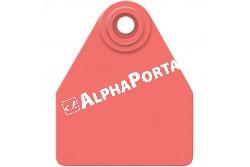 Fülj.Allflex Borjú Apa Piros  HUNLMR  Írható aparész