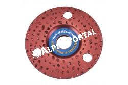 Csülökvágó Korong Ritka 115mm  KR16340  ritka felhordású   30-as szemcsék   puha patához ajánlott   könnyebben tisztítható mint a sűrűszemcsés