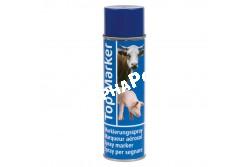 Állatjelölő Spray Topmarker Kék  500ml Szvm Sertés  KR20158  szarvasmarhák, kecskék és sertések jelöléséhez   intenzív színű és gyorsan száradó festék    juhokhoz ajánljuk a speciális juhjelölő sprayt