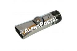 """Itató Szopókás Aquaglobe 1/2 Coll Koca 2065-100  75mm Saját Menetes Víztakarékos  KR223210  hossz: 75 mm, csatlakozás, csavarzat: 1/2""""  1/2"""", használati cél: kocák"""