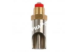 """Itató Szopókás Hízó 1/2 Coll Kr  72mm  KR22334  hossz: 75 mm, csatlakozás, csavarzat: 1/2""""""""  3/4"""""""" használati cél: hízó"""
