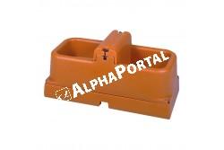 """Fagymentes Szinttartós Isobac Itató 100 W  KR22343  KR222796 TRANSZFORMÁTOR ITATÓHOZ  230V-24 V/100 VA  IP65 2009185  TERMOSZTÁT RTS-01, ITATÓKHOZ 96x45x42cm, 10,5kg, 1/2 colos csatlakozás, fűtőszál  2x50W  24V     34lit/perc   4bar    30 tejelő tehénre """" szerelés betonlábazatra   kettős oldalfalú víztér   alsó része teljesen hőszigetelt, 96x45x42cm, 10,5kg, 1/2 colos csatlakozás, fűtőszál 2x50W  24V     34lit/perc   4bar    30 tejelő tehénre, elkerülhető a szerves anyagok lerakódása az itató aljára, és az olyan baktériumkultúrák kifejlődése, amelyek a tőgygyulladás és a borjúhasmenés kialakulásának kedveznek  """""""