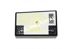 Keresőkos Kréta Sárga  KR2756  keresőkos mellényhez    kréta fémtartóban    használható télen, nyáron