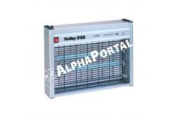 Rovarcsapda El.Halley 2138  KR299804  230V/50Hz  2x15W  150M2  5000V  BxHxT  51x39x12cm Fénycső:KR299811  kék fröccsenő vízzel szemben minden irányból védett (IP 44) mezőgazdasági felhasználásra ajánlott
