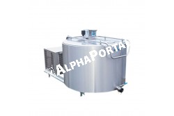 Tejhűtő     300 L 4 töltéses   MPV3004  Keverővel, DN szeleppel, 4 fejéses, 1  fázisú.