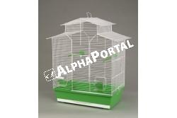 Kalitka Iza Ii Fehér 510*300*605mm  P010  Inter-Zoo - IZA II FEHÉR     510x300x605  Kiváló minőségű Inter-Zoo kalitka papagájnak pintynek kanárinak és egyéb díszmadaraknak.  Házikedvence remekül érzi magát az Inter-Zoo kalitkában mely műanyag aljzatból és fém vázból áll. A két rész különválasztható tisztításkor szállításkor könnyen szétválasztható illetve összeilleszthető.