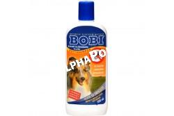 :Bobi Bolhairtó Sampon  S03  S03  Bobi bolhairtó sampon - Alkalmas a kutyákon élősködő bolhák elpusztítására. A gyógyszeres samponnal történő kezelés hetente ismételhető.