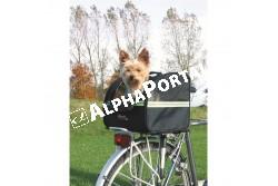 .Biciklis Szállítótáska 35×28×29cm  TRX13112  Szállítóbox házi kedvencek részére, utazáshoz. Anyaga fém, műanyag, nylon, poliészter