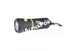.LED Lámpa Ürüléktartóval fekete 17cm  TRX22834