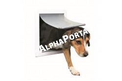 .Ajtó Kutyának 2 utas S-M 30*36cm fehér  TRX3878  Ajtó házi kedvencek ki- és bejárására, 2 vagy 4 utas kivitelben (modeltől függően). Anyaga: műanyag