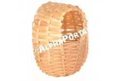 .Fészek  Kis Madárnak 10x9cm  TRX5600  Kiegészítő felszerelés házi kedvencek részére. Anyaga: az állat szempontjából biztonságos anyagból készült (gumi, latex, műanyag, fa, fém vagy nylon).