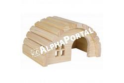 .Faház Hörcsögnek 19*11*13cm  TRX61271  Kiegészítő felszerelés házi kedvencek részére.  Anyag: az állat szempontjából biztonságos anyagból készült (gumi, latex, fa, fém vagy nylon)