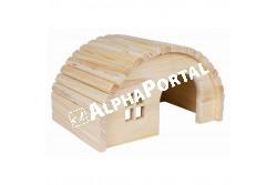.Faház Tengerimalacnak 29*17*20cm  TRX61272  Kiegészítő felszerelés házi kedvencek részére.  Anyag: az állat szempontjából biztonságos anyagból készült (gumi, latex, fa, fém vagy nylon)