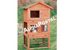 .Faház Nyúlnak 3szintes  TRX62334  Kiegészítő felszerelés házi kedvencek részére.  Anyag: az állat szempontjából biztonságos anyagból készült (gumi, latex, fa, fém vagy nylon)