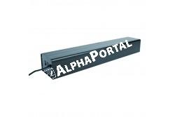 .Aluminium Terrárium Burkolat 3 Kompact Lámpához 66*12*9cm  TRX76078