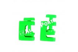 .Akvárium Cső Fogó Műanyag Zöld  5mm 2db  TRX8037