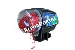 .Akvárium Etető Automata  TRX86200  Automata eledel adagoló halaknak Használati utasítás 1.Elemek behelyezése (2. ábra) Nyissa ki az etető hátulját, enyhén meghúzva a fedél felső részét.  2 db 1.5 AA elemet használjon. Figyelmeztetés: Ne használjon tölthető elemeket! 2.Etetési idő beprogramozása (1. ábra) Használja a kapcsolót az etetési időközök beállításához, 12 vagy 24 óra. Az időzítő akkor indul, amikor az elemek be vannak helyezve.  3.Kézi használat Ha két etetési idő között szeretne etetni, nyomja meg a