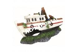 .Akvárium Dekor Halászhajó 15cm  TRX87818